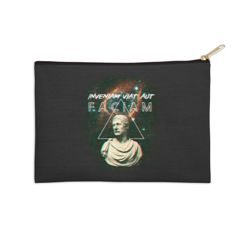 INVENIAM VIAM AUT FACIAM Accessories Zip Pouch by Den of the Wolf