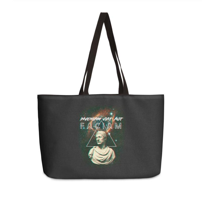 INVENIAM VIAM AUT FACIAM Accessories Weekender Bag Bag by Den of the Wolf