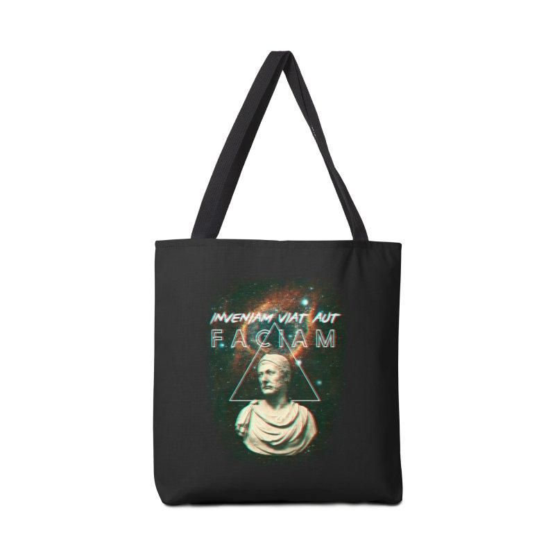 INVENIAM VIAM AUT FACIAM Accessories Tote Bag Bag by Den of the Wolf