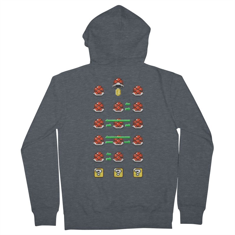 Shell Game Men's Zip-Up Hoody by Den of the Wolf