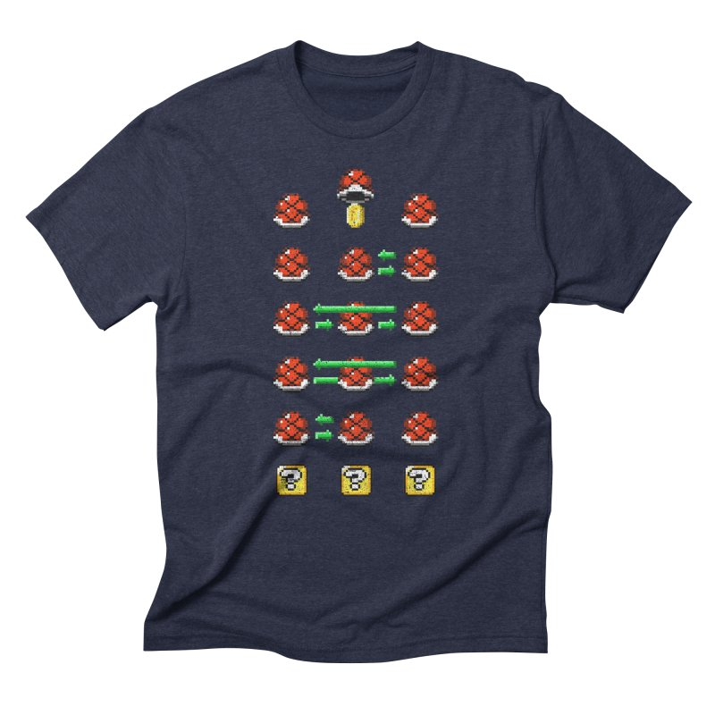 Shell Game Men's Triblend T-Shirt by Den of the Wolf