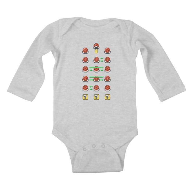 Shell Game Kids Baby Longsleeve Bodysuit by Den of the Wolf