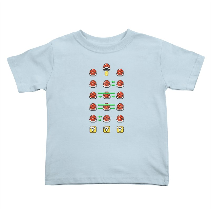 Shell Game Kids Toddler T-Shirt by Den of the Wolf