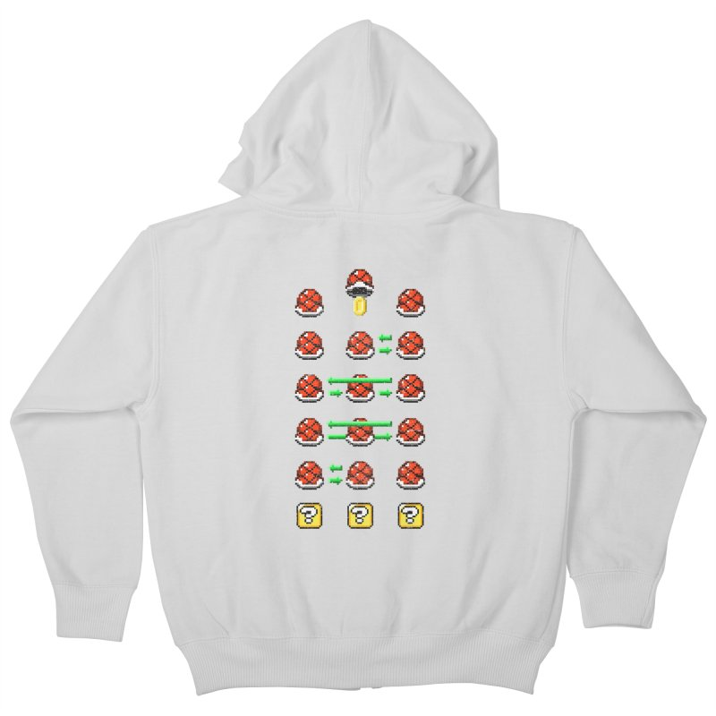 Shell Game Kids Zip-Up Hoody by Den of the Wolf