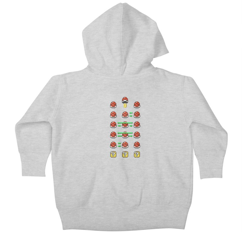 Shell Game Kids Baby Zip-Up Hoody by Den of the Wolf