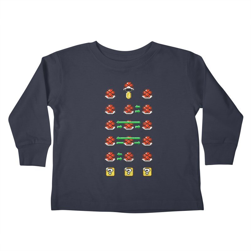 Shell Game Kids Toddler Longsleeve T-Shirt by Den of the Wolf