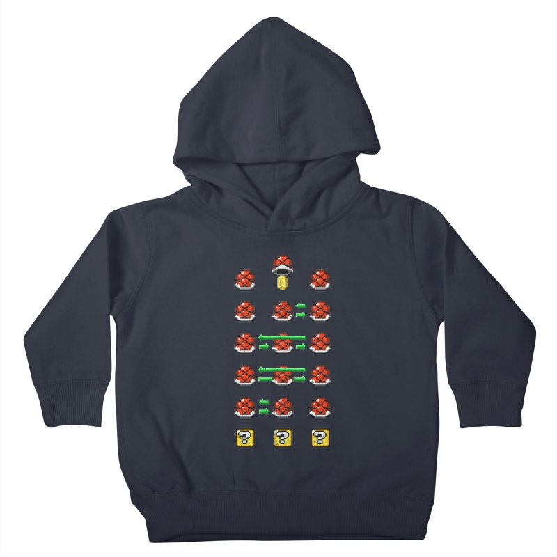 Shell Game Kids Toddler Pullover Hoody by Den of the Wolf