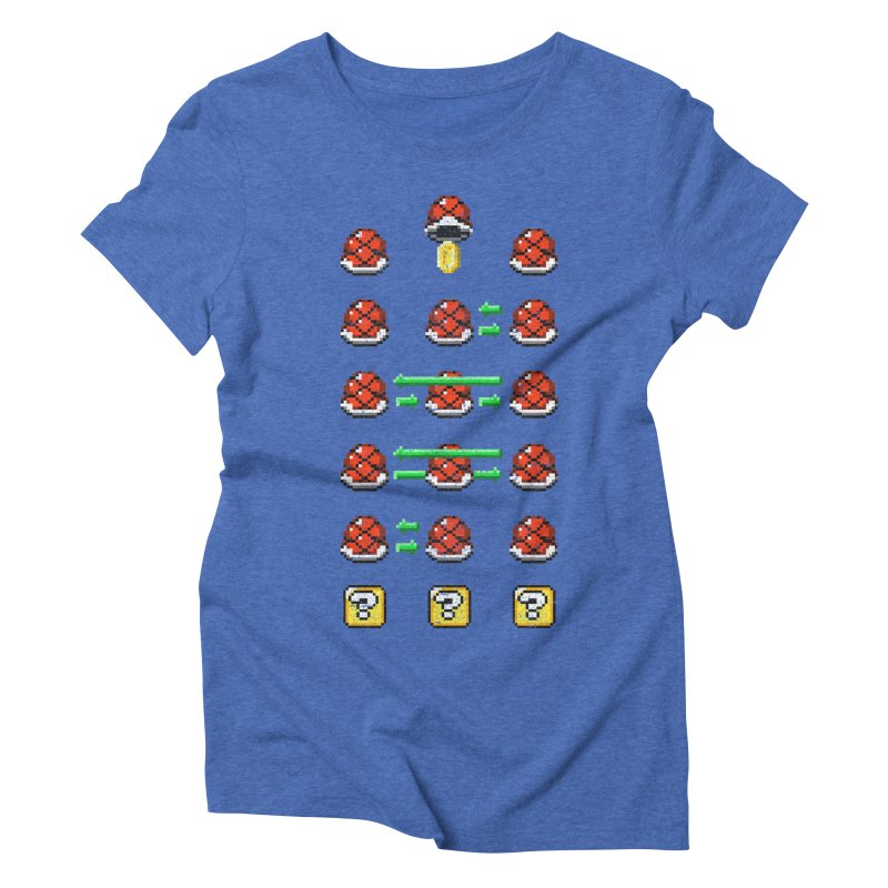 Shell Game Women's Triblend T-Shirt by Den of the Wolf