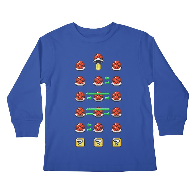 Shell Game Kids Longsleeve T-Shirt by Den of the Wolf