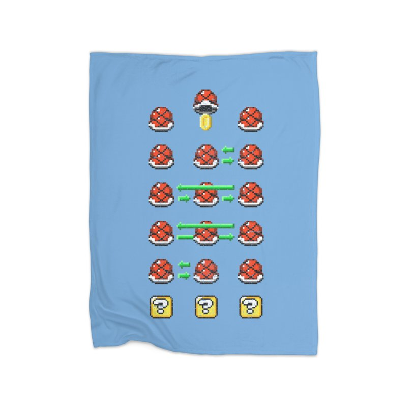 Shell Game Home Blanket by Den of the Wolf