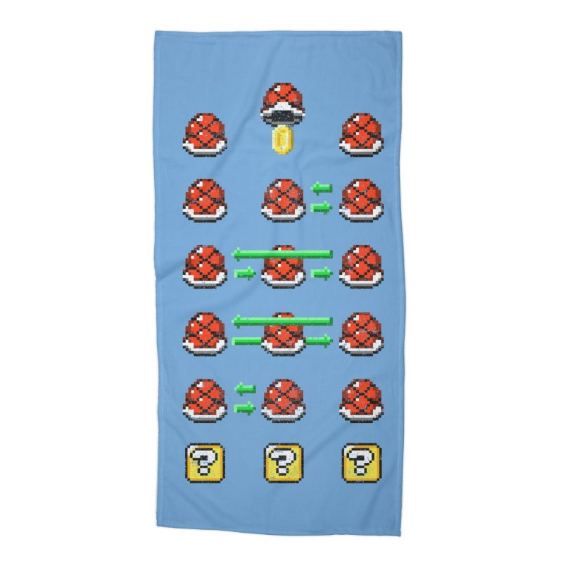 Shell Game Accessories Beach Towel by Den of the Wolf