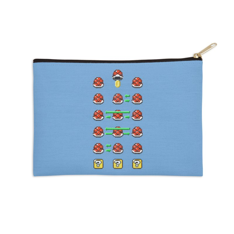Shell Game Accessories Zip Pouch by Den of the Wolf