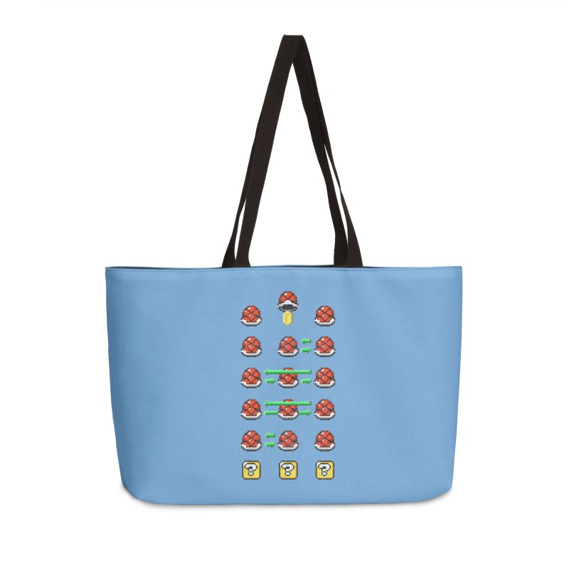 Shell Game Accessories Weekender Bag Bag by Den of the Wolf