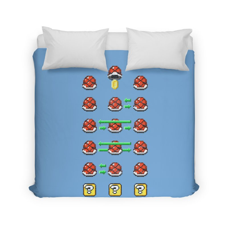Shell Game Home Duvet by Den of the Wolf