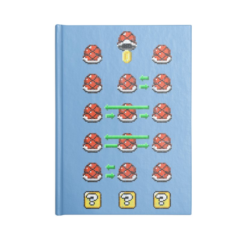 Shell Game Accessories Blank Journal Notebook by Den of the Wolf