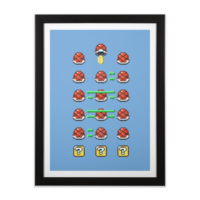 Shell Game Home Framed Fine Art Print by Den of the Wolf