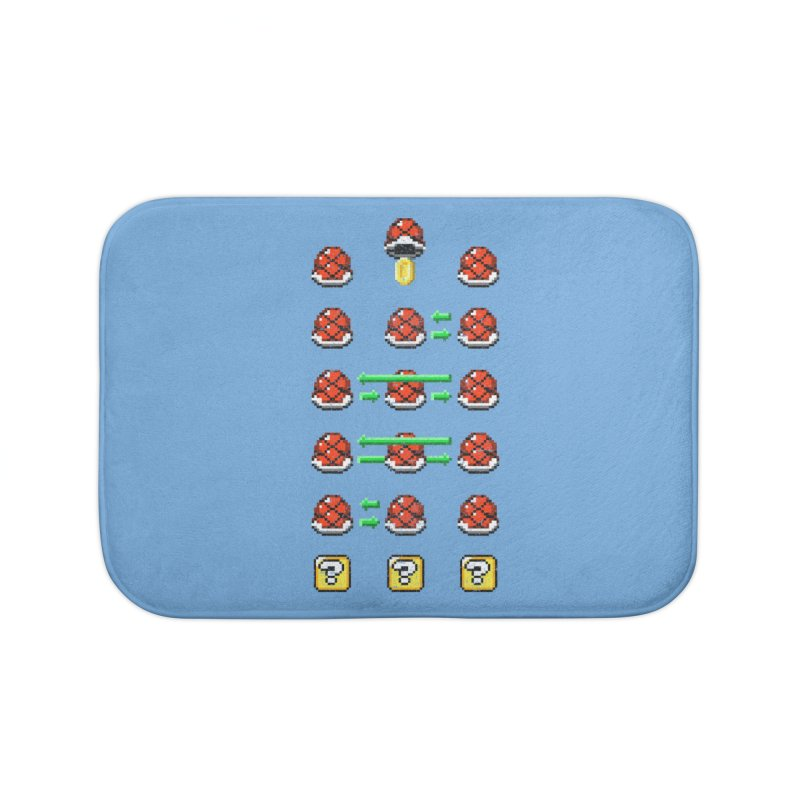 Shell Game Home Bath Mat by Den of the Wolf