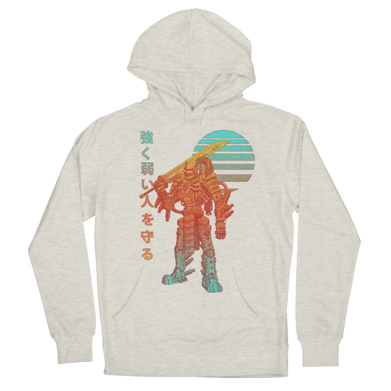The Strong Protect The Weak Men's Pullover Hoody by Den of the Wolf