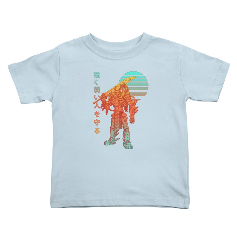 The Strong Protect The Weak Kids Toddler T-Shirt by Den of the Wolf