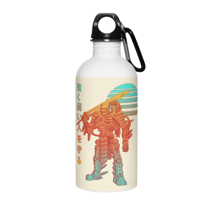 The Strong Protect The Weak Accessories Water Bottle by Den of the Wolf