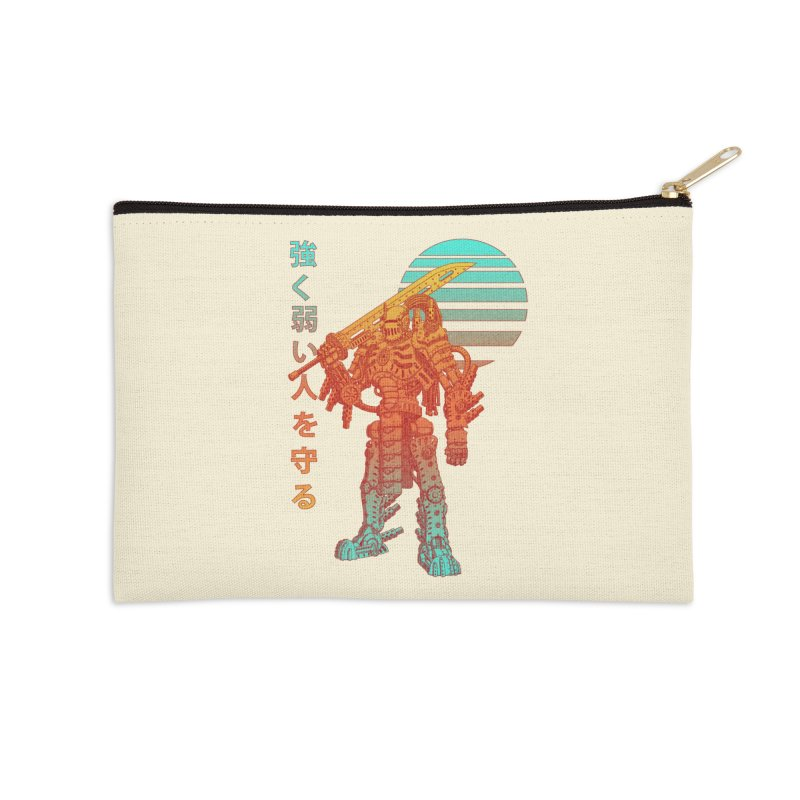 The Strong Protect The Weak Accessories Zip Pouch by Den of the Wolf