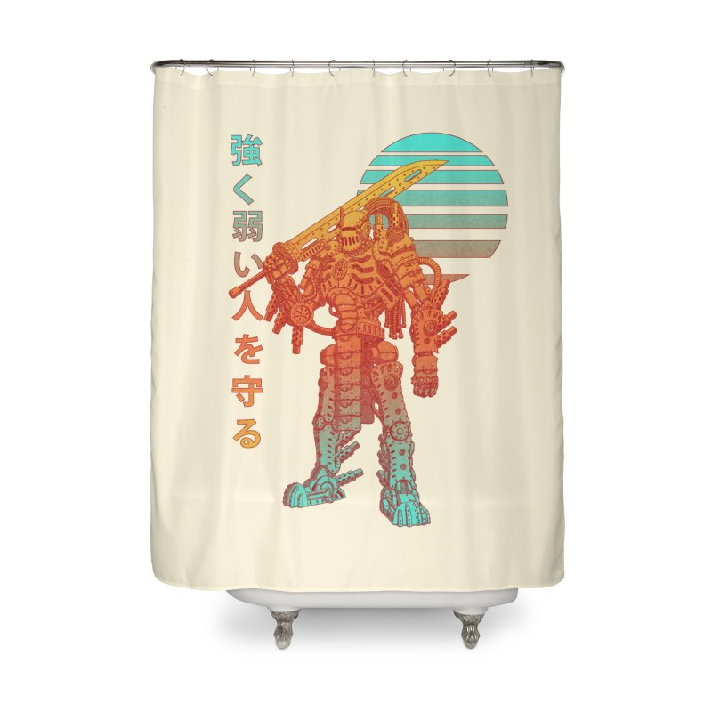 The Strong Protect The Weak Home Shower Curtain by Den of the Wolf