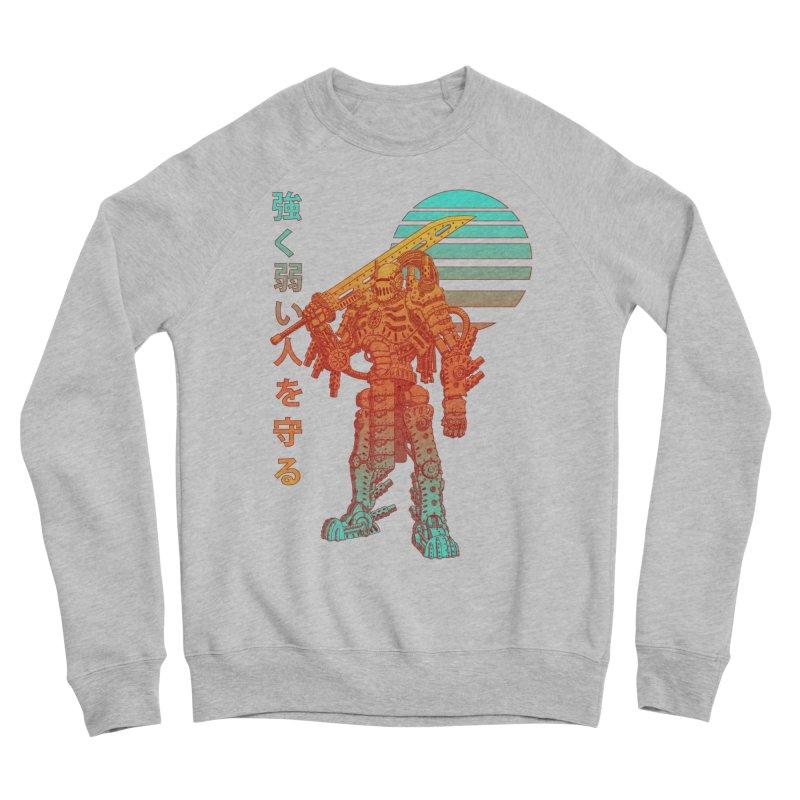 The Strong Protect The Weak Men's Sponge Fleece Sweatshirt by Den of the Wolf