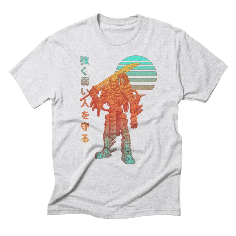 The Strong Protect The Weak Men's Triblend T-Shirt by Den of the Wolf