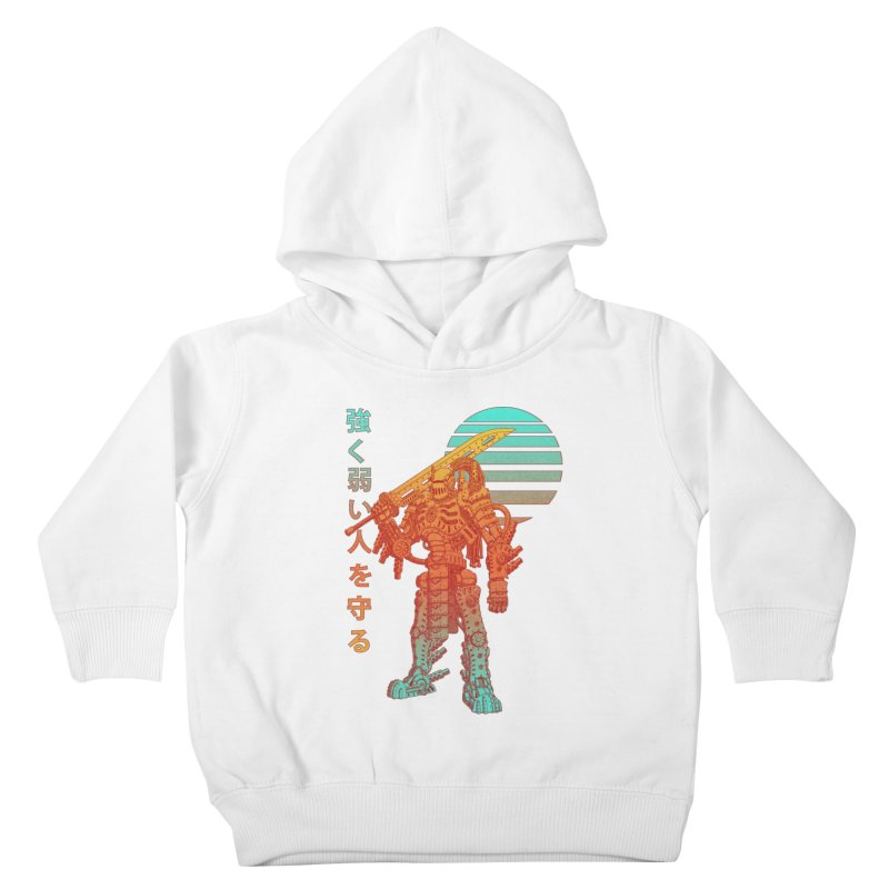The Strong Protect The Weak Kids Toddler Pullover Hoody by Den of the Wolf