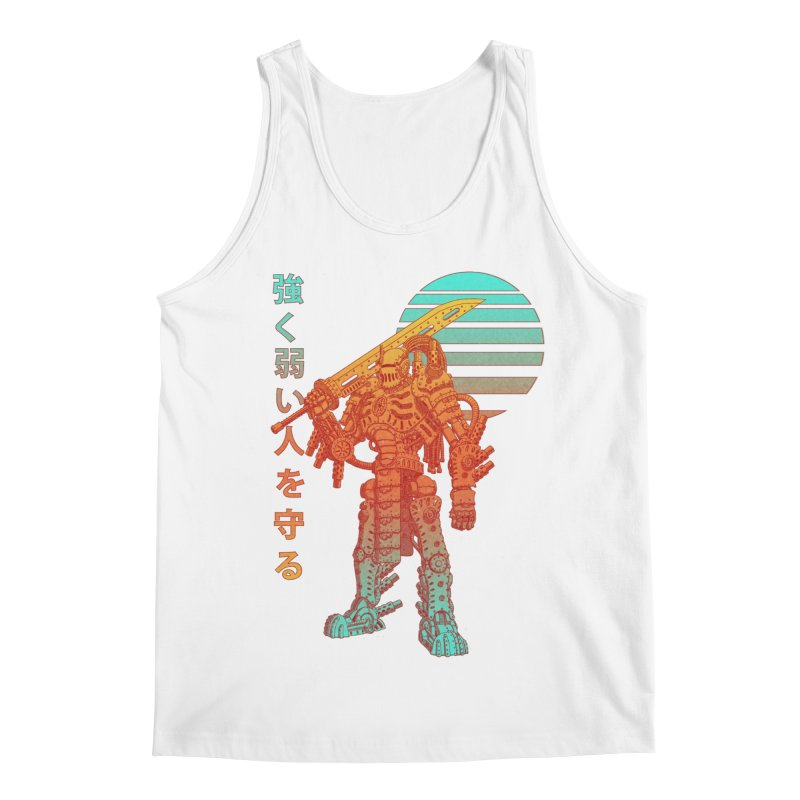 The Strong Protect The Weak Men's Regular Tank by Den of the Wolf