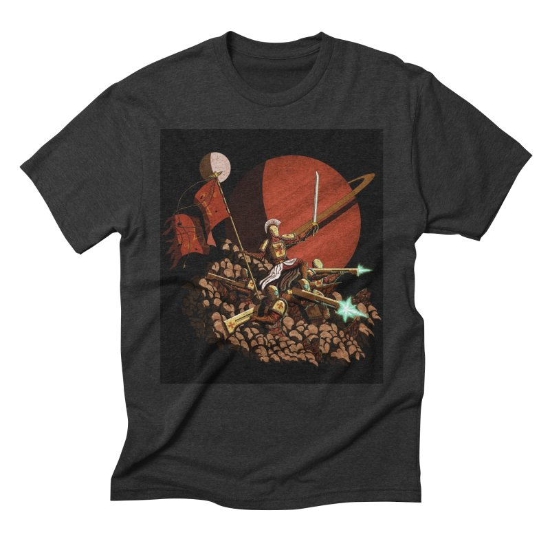 Onward, to Glory! Men's Triblend T-Shirt by Den of the Wolf