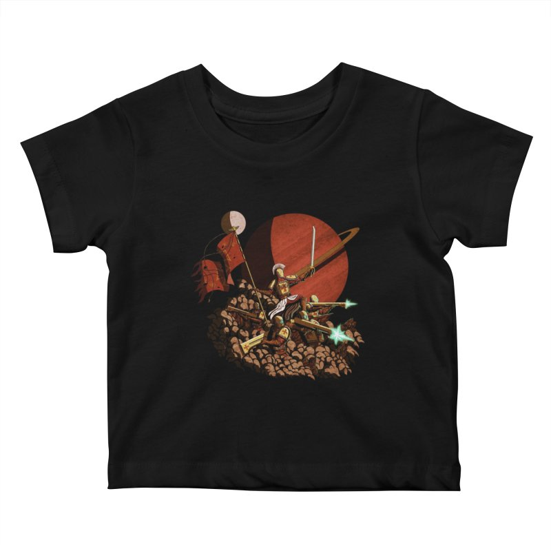 Onward, to Glory! Kids Baby T-Shirt by Den of the Wolf