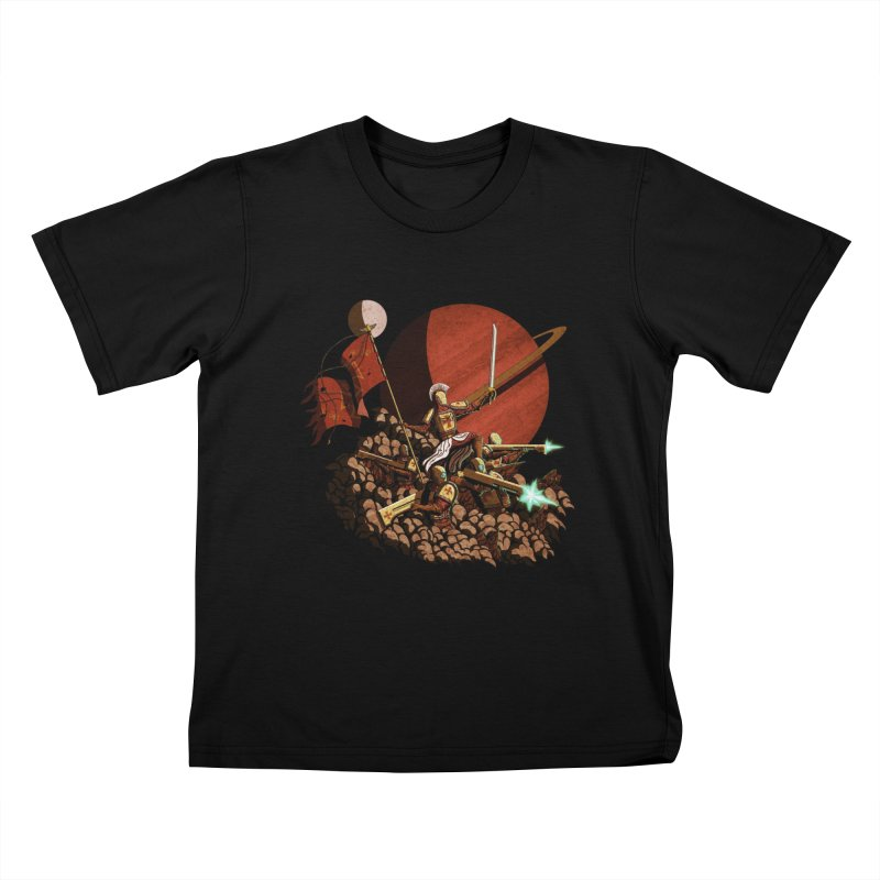 Onward, to Glory! Kids T-Shirt by Den of the Wolf