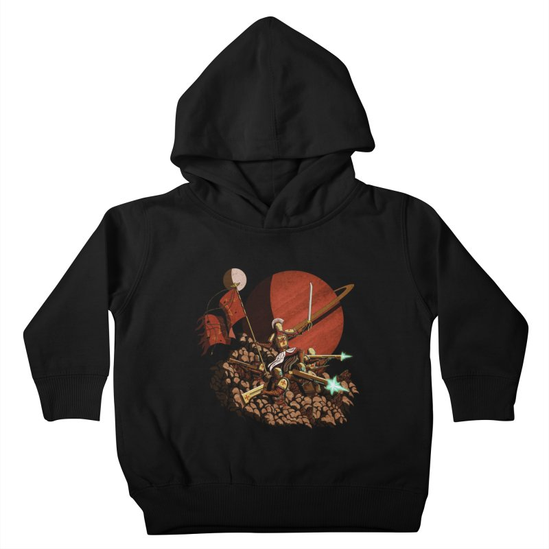Onward, to Glory! Kids Toddler Pullover Hoody by Den of the Wolf