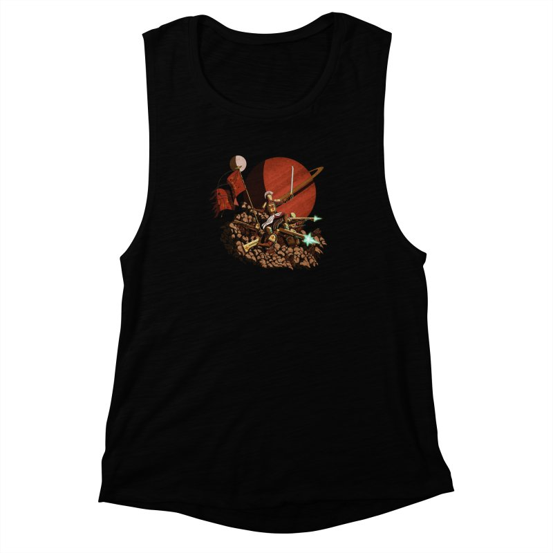 Onward, to Glory! Women's Muscle Tank by Den of the Wolf