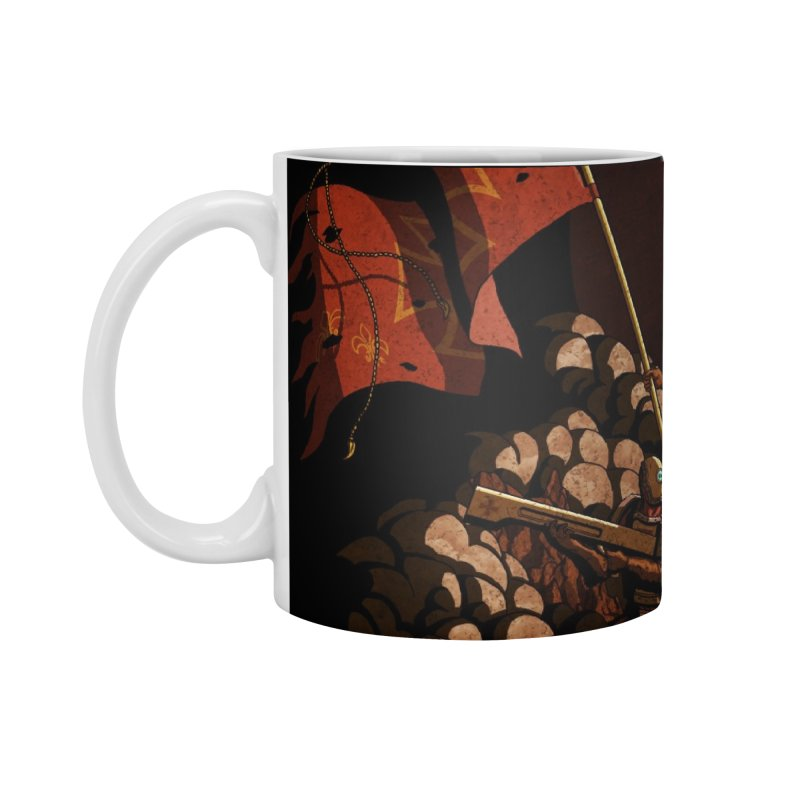 Onward, to Glory! Accessories Standard Mug by Den of the Wolf