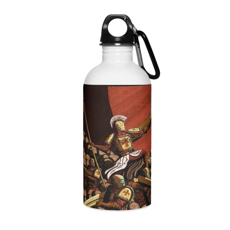 Onward, to Glory! Accessories Water Bottle by Den of the Wolf