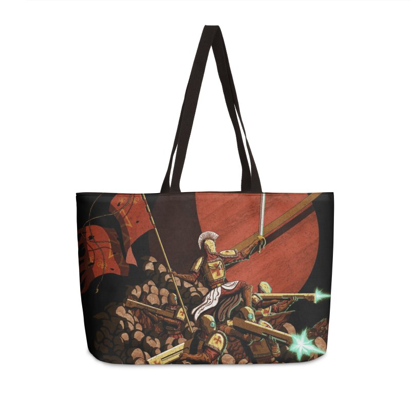 Onward, to Glory! Accessories Weekender Bag Bag by Den of the Wolf