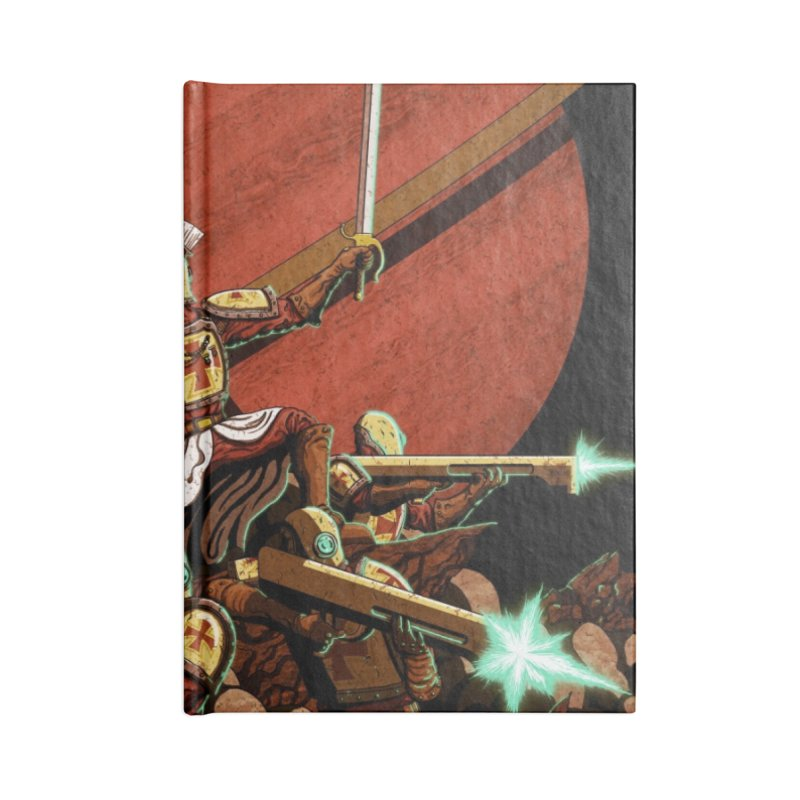 Onward, to Glory! Accessories Lined Journal Notebook by Den of the Wolf