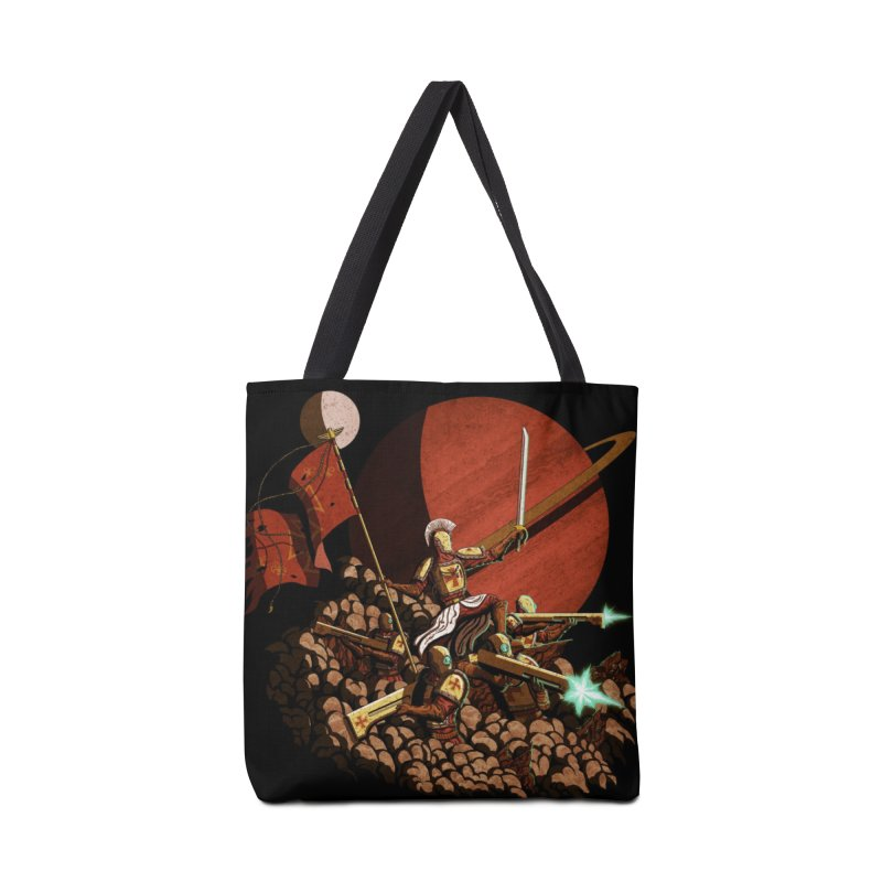 Onward, to Glory! Accessories Tote Bag Bag by Den of the Wolf