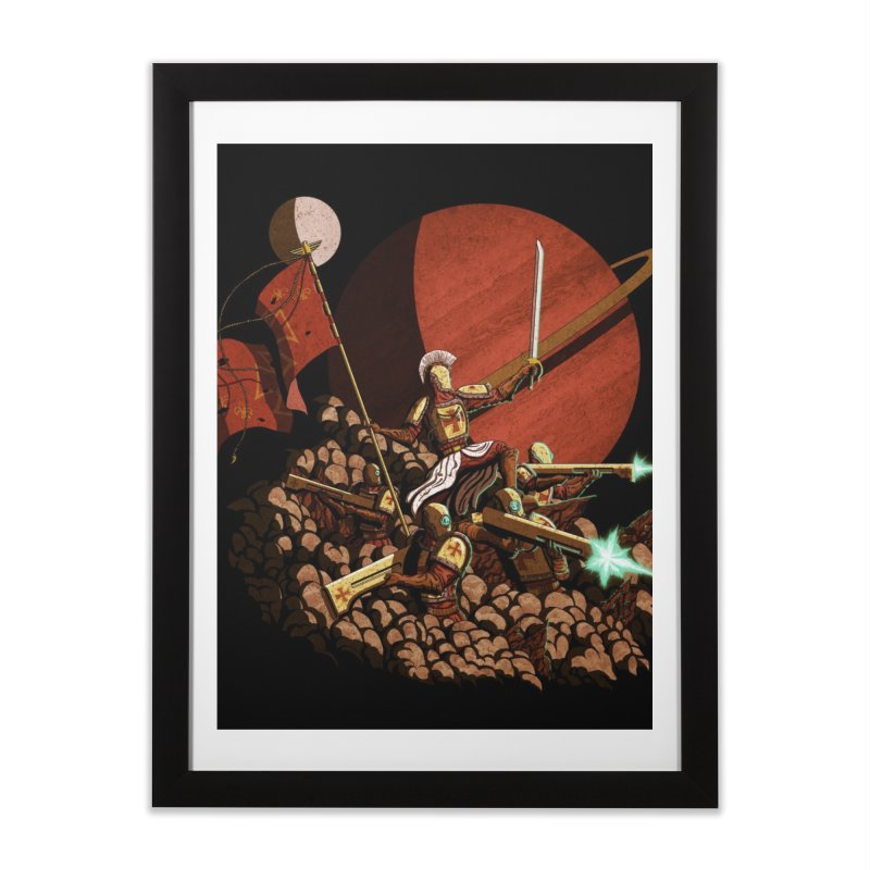 Onward, to Glory! Home Framed Fine Art Print by Den of the Wolf