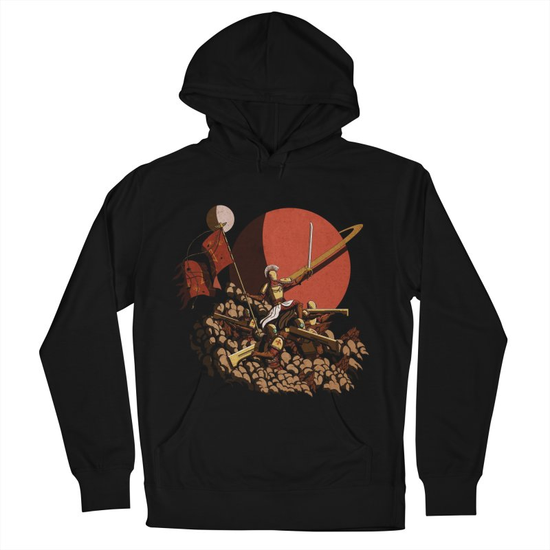 Onward, to Glory! Men's Pullover Hoody by Den of the Wolf
