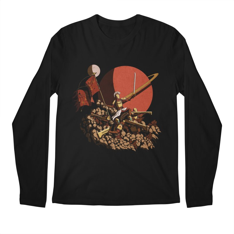 Onward, to Glory! Men's Longsleeve T-Shirt by Den of the Wolf