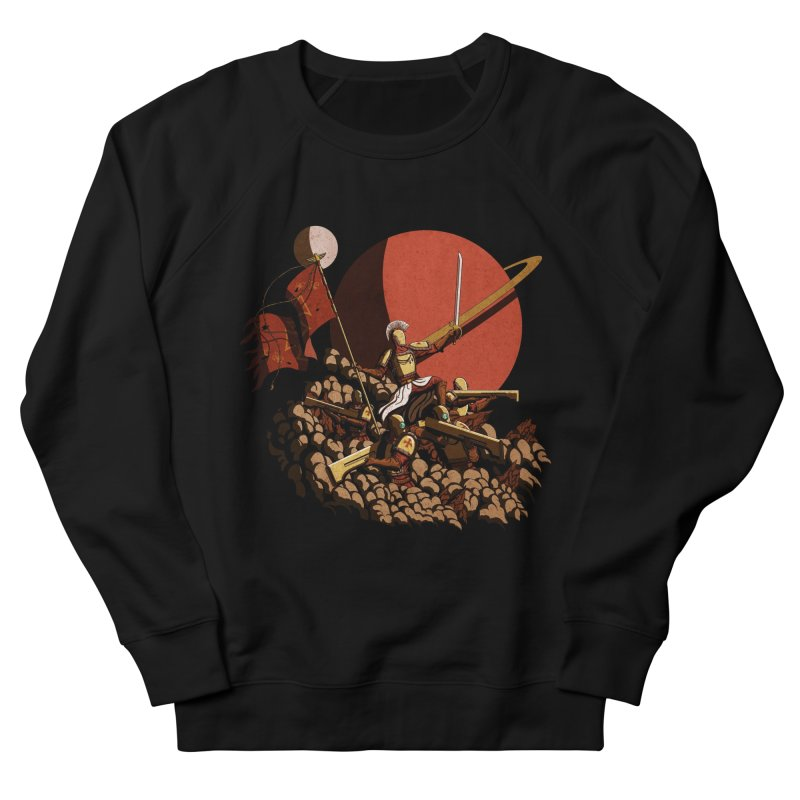 Onward, to Glory! Men's Sweatshirt by Den of the Wolf
