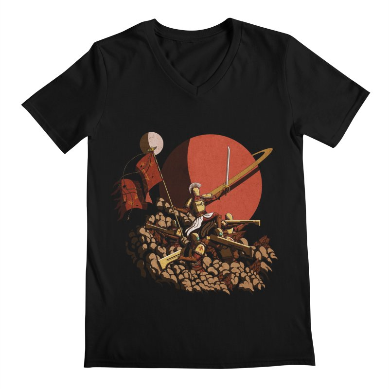 Onward, to Glory! Men's V-Neck by Den of the Wolf