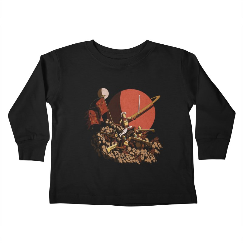 Onward, to Glory! Kids Toddler Longsleeve T-Shirt by Den of the Wolf