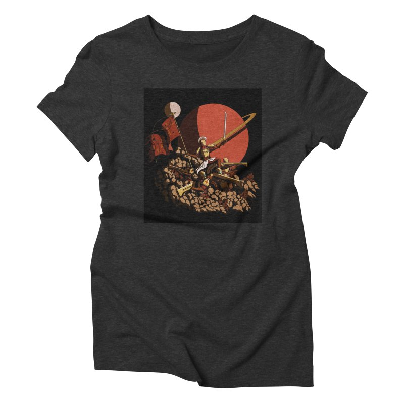 Onward, to Glory! Women's Triblend T-Shirt by Den of the Wolf