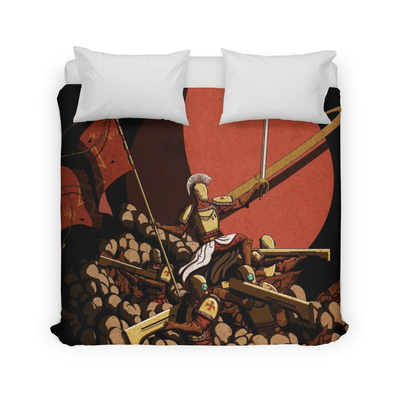 Onward, to Glory! Home Duvet by Den of the Wolf