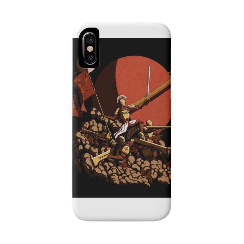 Onward, to Glory! Accessories Phone Case by Den of the Wolf