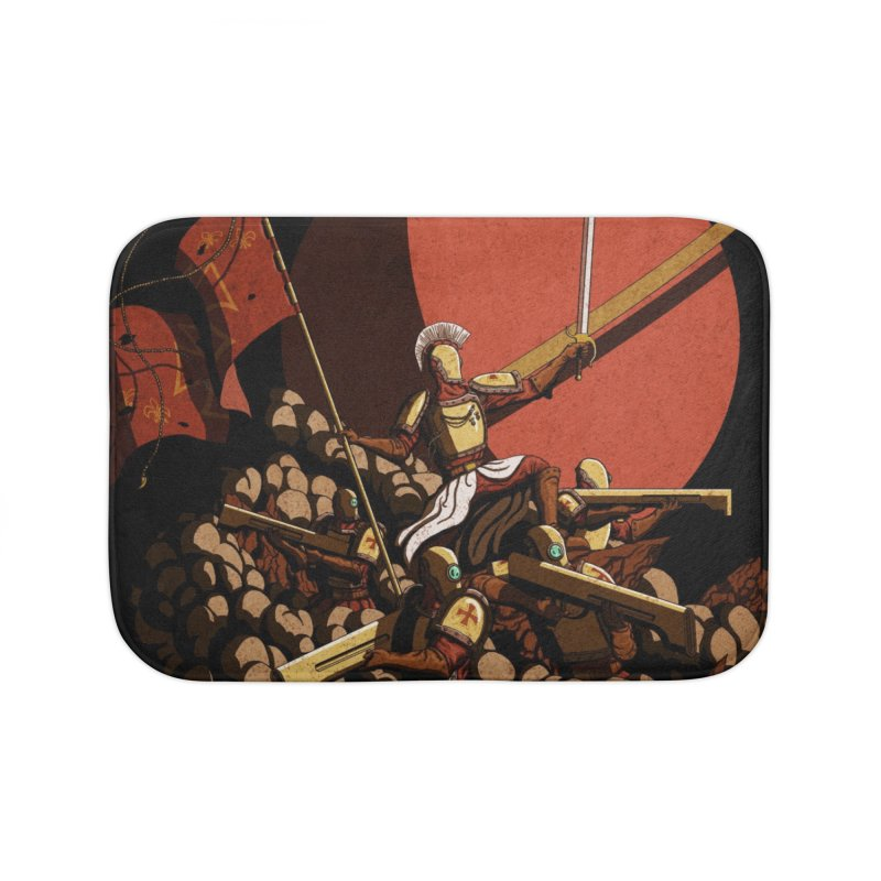 Onward, to Glory! Home Bath Mat by Den of the Wolf